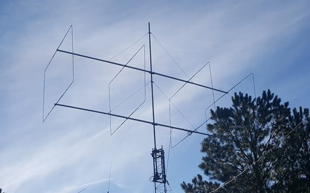 The Rigid Dual boom Quad from InnovAntennas – LFA-Q – 4el for 28MHz