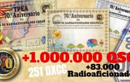 URE – Spanish Amateur Radio Union  1000000  QSO´s