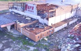 Ohio ARES Active in Wake of Tornadoes that Badly Damaged Hara Arena