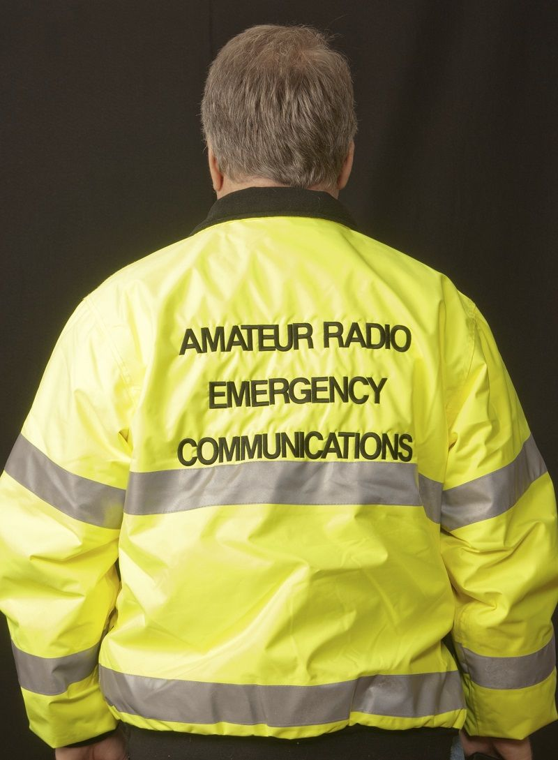 Mexican Amateur Radio Volunteers Providing Communication in Wildfire Response