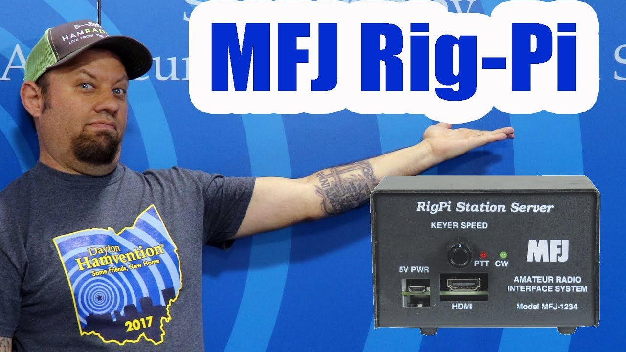 The MFJ-1234 Rig Pi Remote Station from Dayton Hamvention 2019