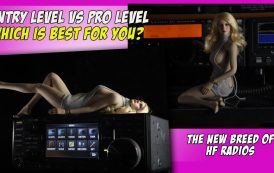 Entry Level vs Pro Level HF Ham Radios   Which is best for you?