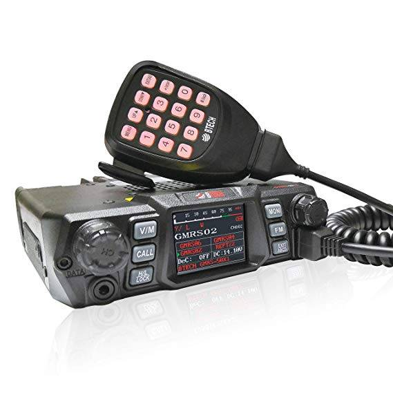 GMRS-50X1 - 50 Watt GMRS Mobile Radio from BTECH is Released