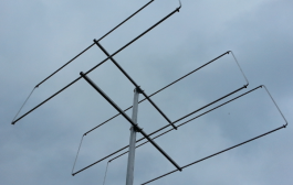 3 element 50MHz LFA-Q Super-Gainer Quad Style Yagi