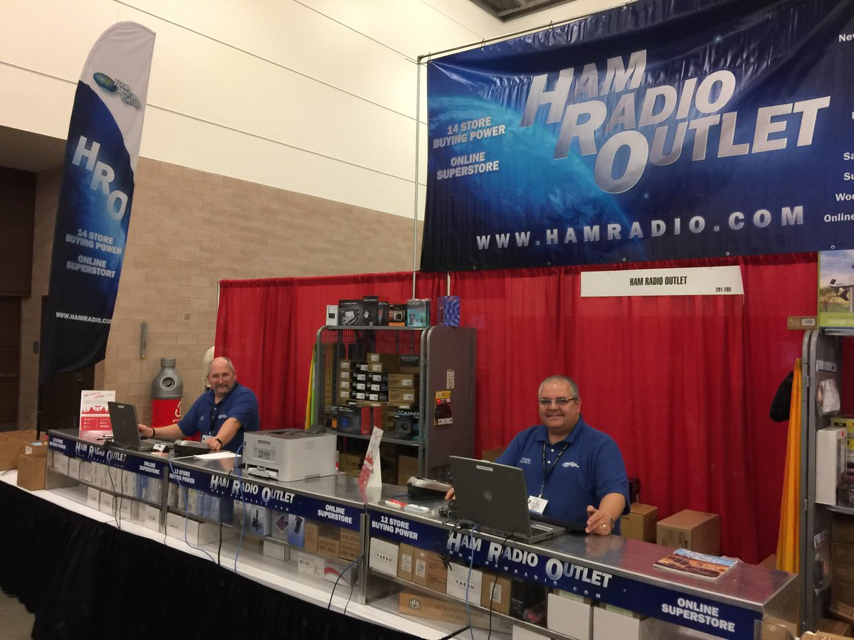 Hamcom 2019, Texas' Largest Hamfest, Day 1