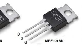 MRF101AN: 100 W CW over 1.8-250 MHz, 50 V Wideband RF Power LDMOS Transistor