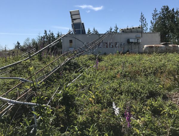 Emergency communication tower destroyed near Oregon coast