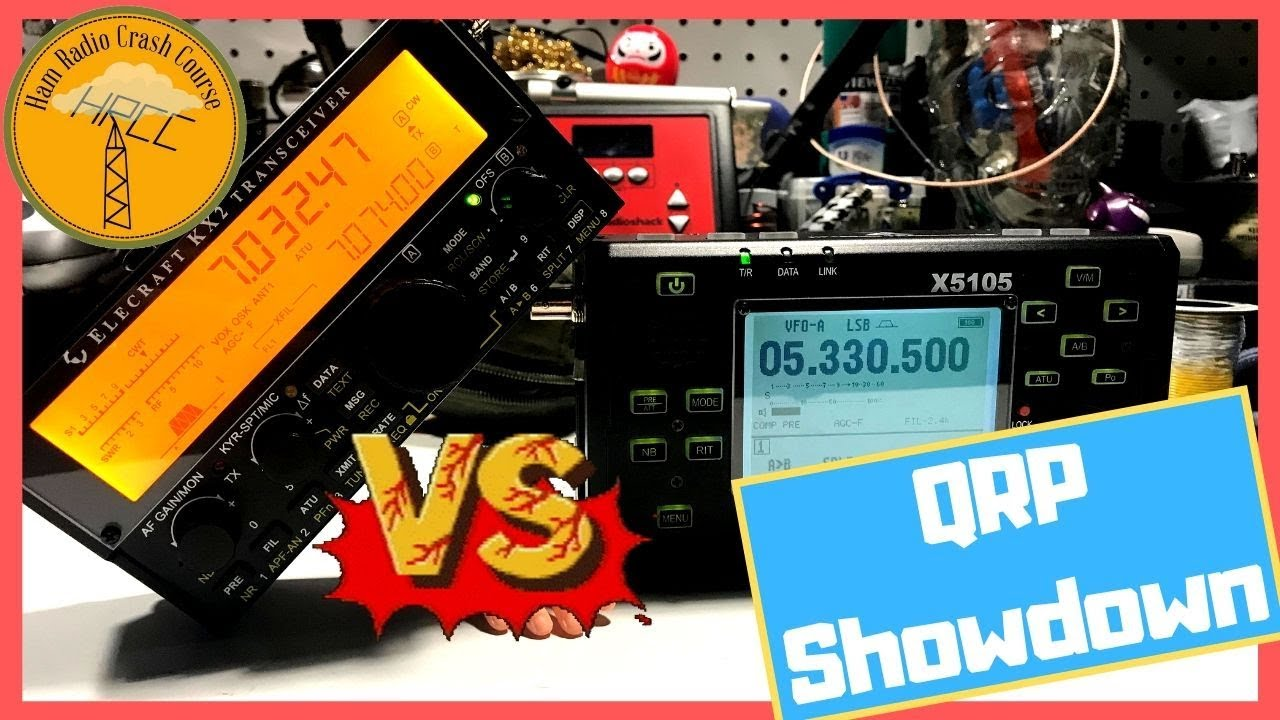 Elecraft KX2 VS. Xiegu X5105 QRP Radio Showdown!