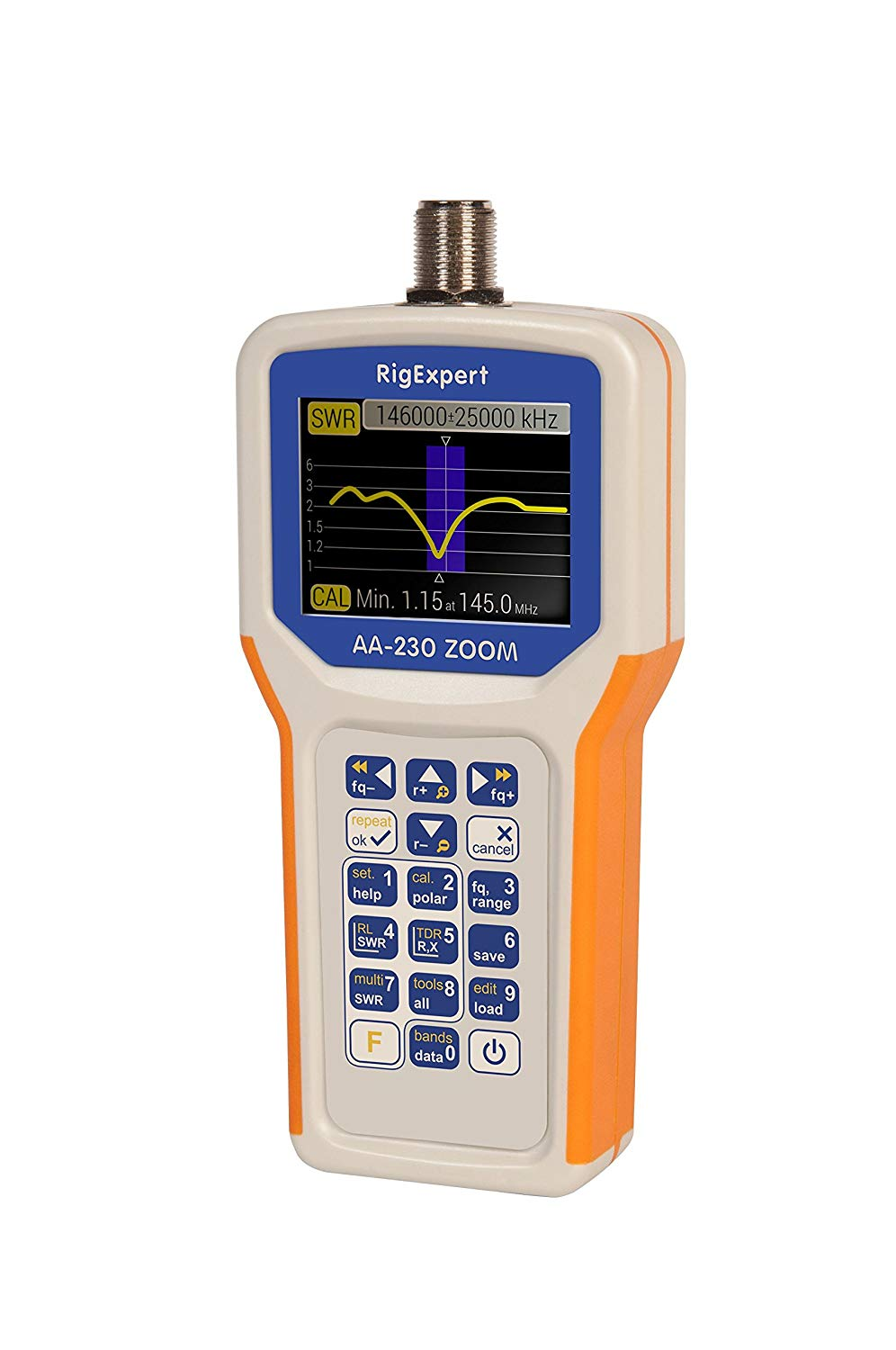RigExpert AA-230 Antenna Analyzer Unboxing and Initial