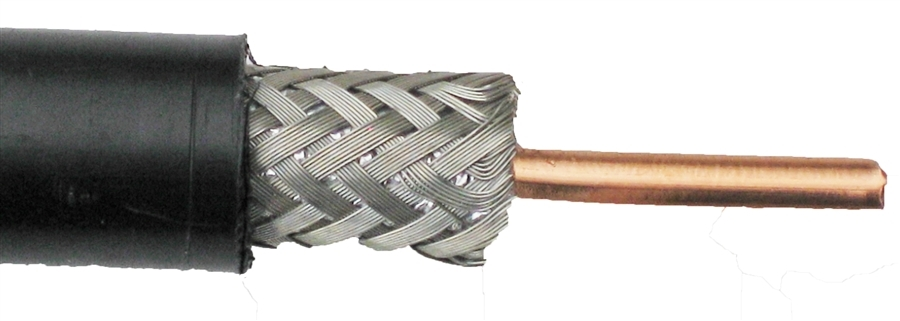 Knot for Coax Strain Relief