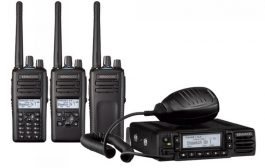 NX-3000 Series lightbar and custom voice prompts | Kenwood Comms