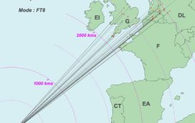 Opening on 144 MHz from the Azores QSO´S over 3,000kms