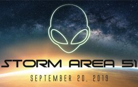 """Nevada ARES/RACES Members Deploy for """"Storm Area 51"""" Event"""