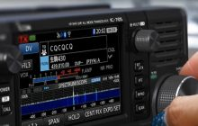 Introducing the IC-705 VHF, UHF, HF, D-Star all-mode 10W QRP portable SDR transceiver