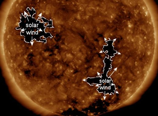 A DOUBLE-GUST OF SOLAR WIND