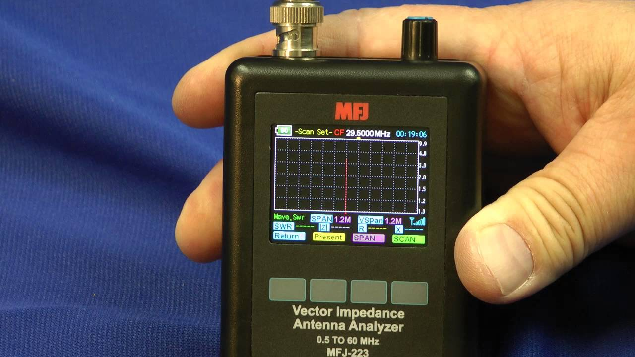 MFJ-223 Vector Impedance Antenna Analyzer