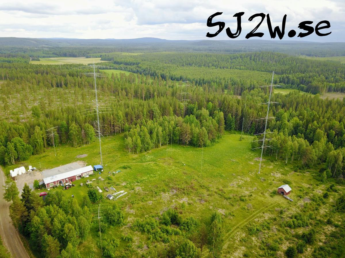SJ2W Contest Station from Above