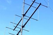 5 element Long Boom 144MHz LFA-Q Super-Gainer Quad Style Yagi
