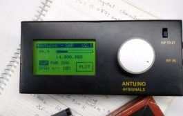 ANTUINO – A compact Radio Lab for Antennas, Radio circuits