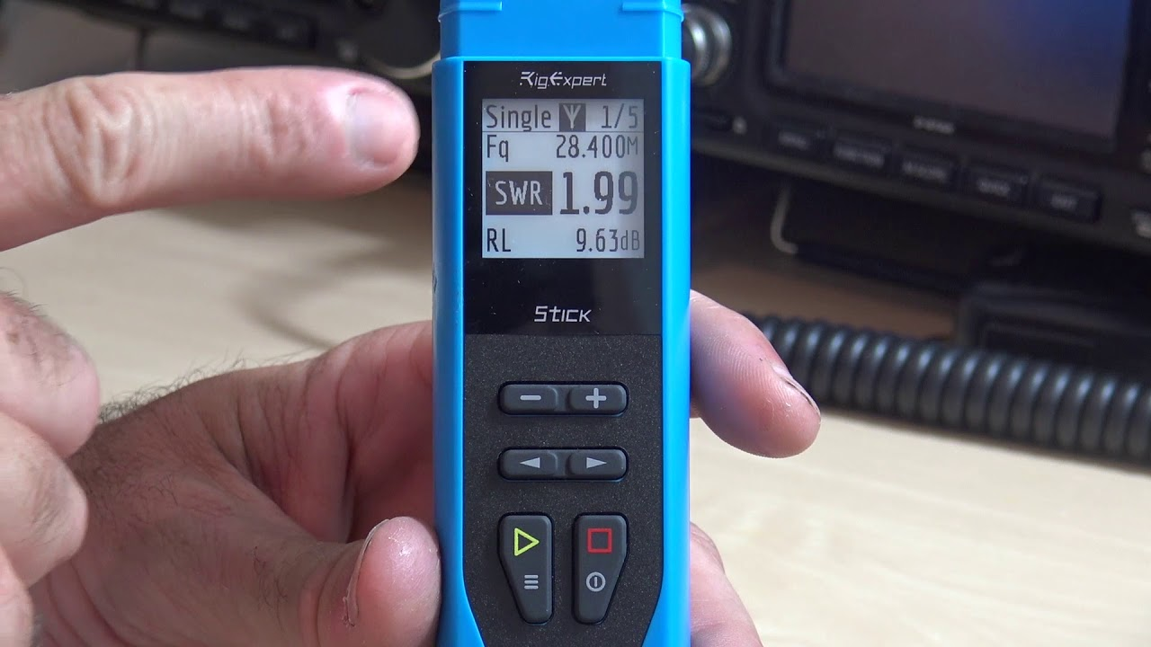NEW! RigExpert Antenna Vector Analyzer, Stick 230 Review