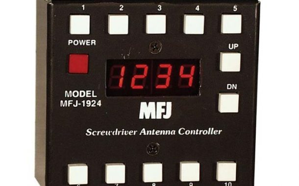 MFJ-1924 Programmable Screwdriver Antenna Controller