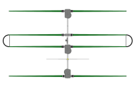 3 Element Yagi Antenna with 30/40 Loop Dipole Adder – SteppIR