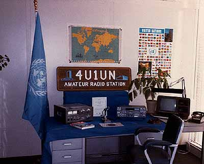UN Headquarters' 4U1UN has been Back on the Air