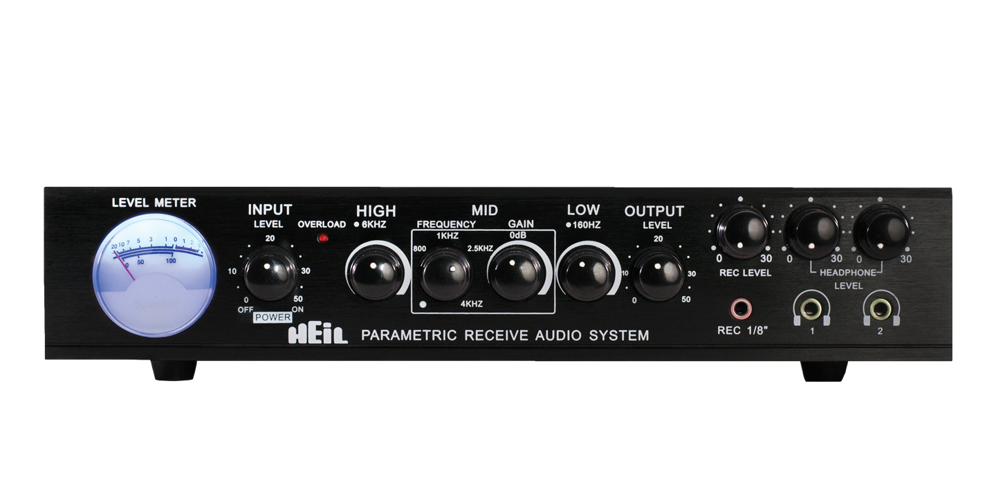 Parametric Receive Audio System Equalizer – Heil Sound