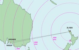 Recent 3000km+ opening on 144 MHz between New Zealand and Australia reported