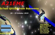A21EME Moonbounce and QO-100 Dxpedition