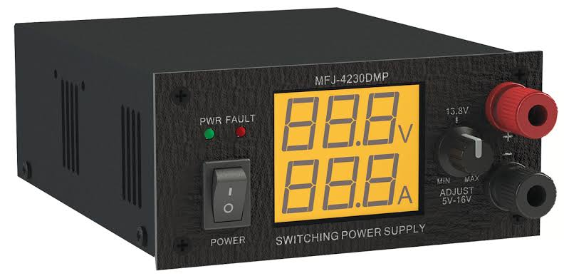 MFJ 4230 DMP 30A Power Supply with Powerpole connectors