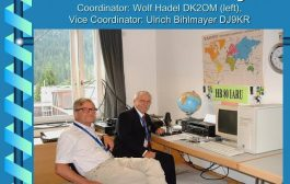 DK2OM receives IARU Diamond Award on retirement from his role as IARUMS coordinator