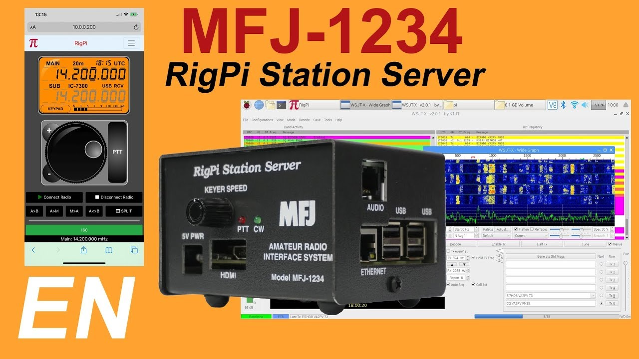 MFJ-1234 – RigPi Station Server Review