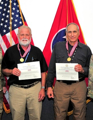 Winlink Development Team Members Awarded Tennessee Military Department Patriot Medals
