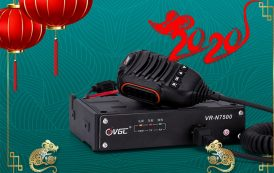VR-N7500 Mobile Radio Approved by CE-RED & FCC Certification