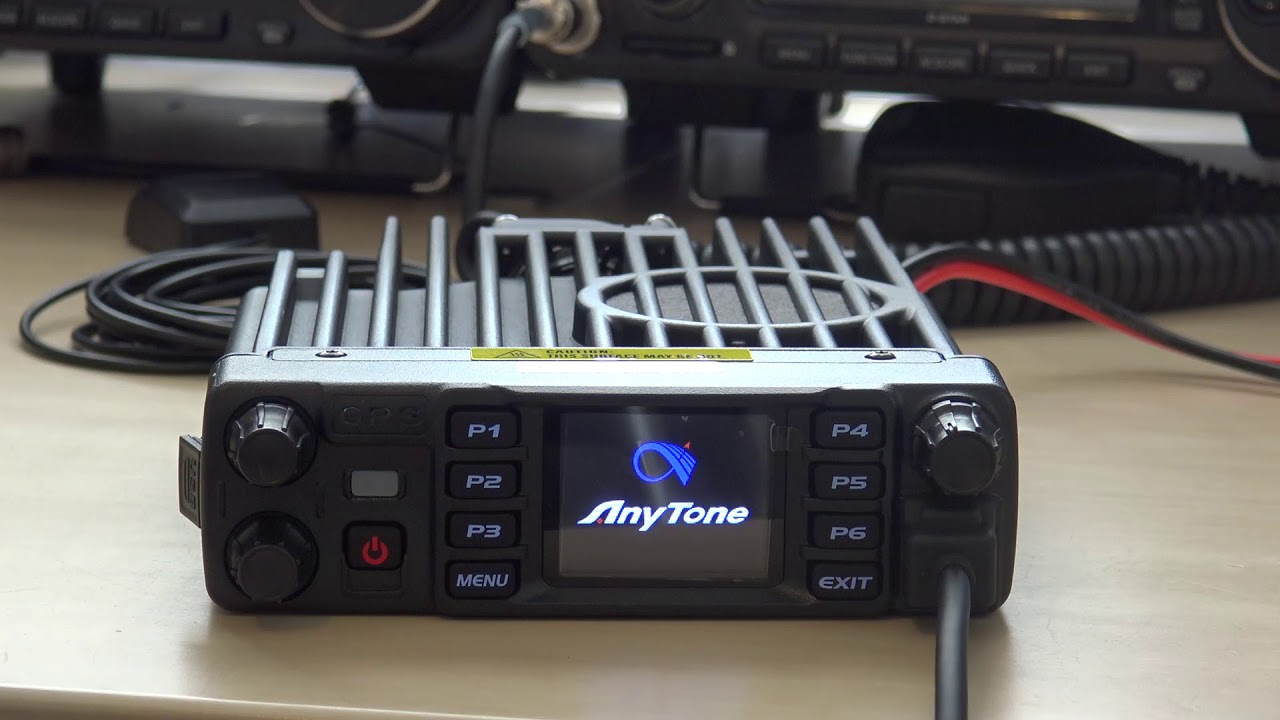 Anytone AT-D578UVIII Pro, DMR/Analog/Tri-Band/Crossmode/Crossband Radio