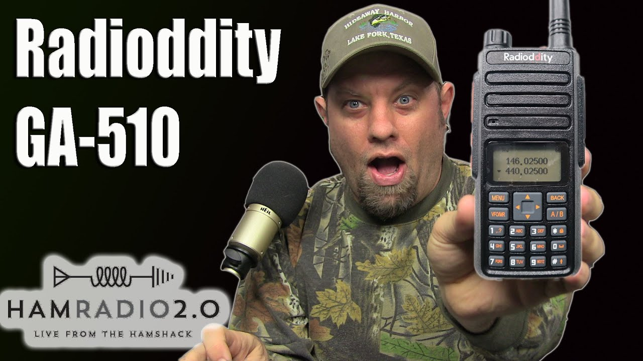 Radioddity GA-510 10-Watt Handheld Review