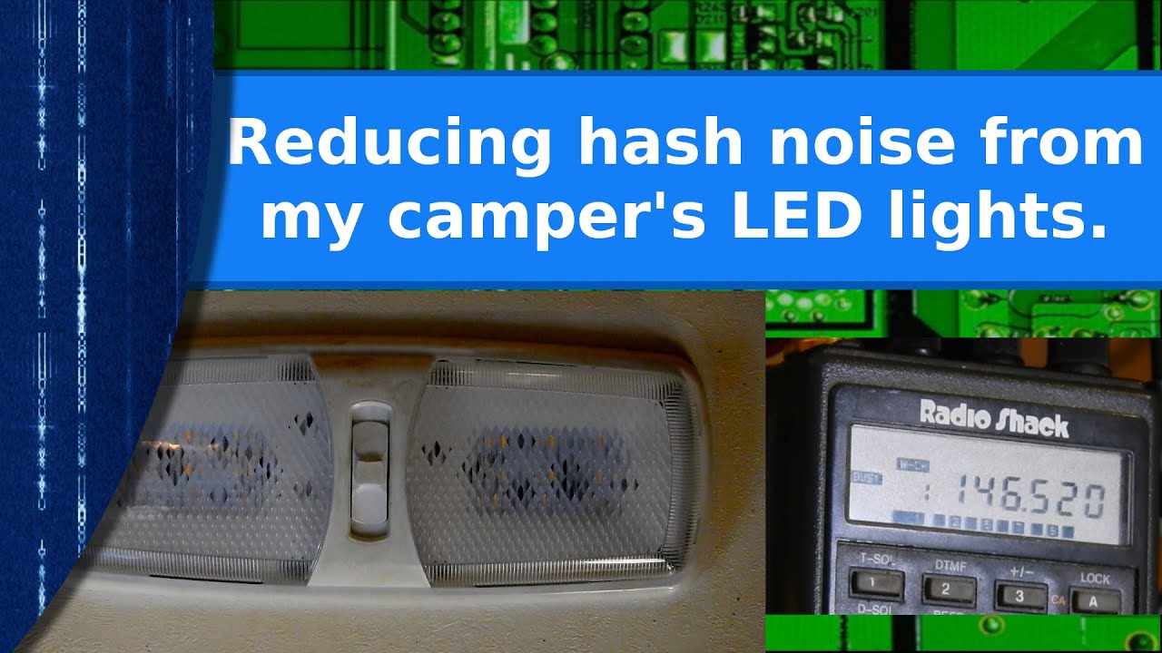 Reducing the noise from my camper's LED lights