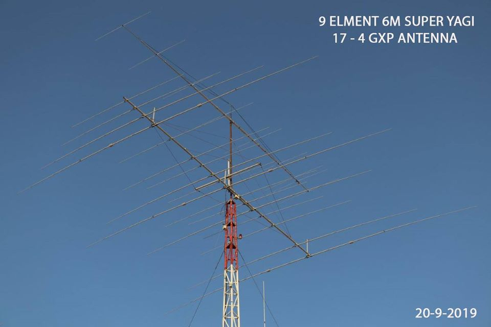 Antenna Yagi 17 elements 4 bands – GPX Antennas
