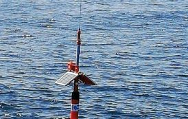 Partially Submerged NEMO-1 WSPR Buoy Retrieved by Fishing Boat