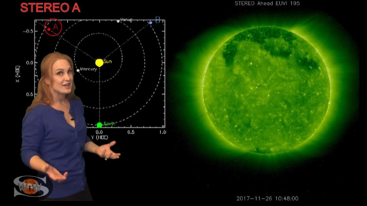 A Mini Solar Storm with a Fast Wind Chaser | Space Weather News 02.20.2020