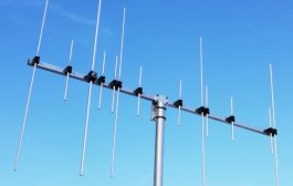 Dual-band antenna 5 elements VHF 8 elements UHF