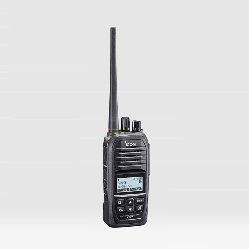 ICOM – New release of IP700, the industry's first hybrid IP transceiver