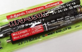 Comet HFJ-350M 9-Band Telescopic Antenna , HF Portable