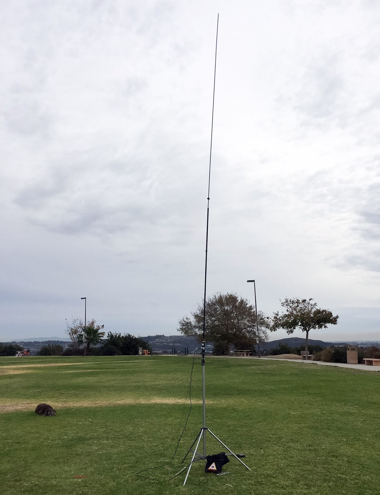 HF Antenna In An HOA, Chameleon MPAS 2.0 Is Discrete!!