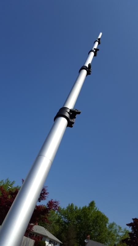 Reference Station: A simple 20-foot mast