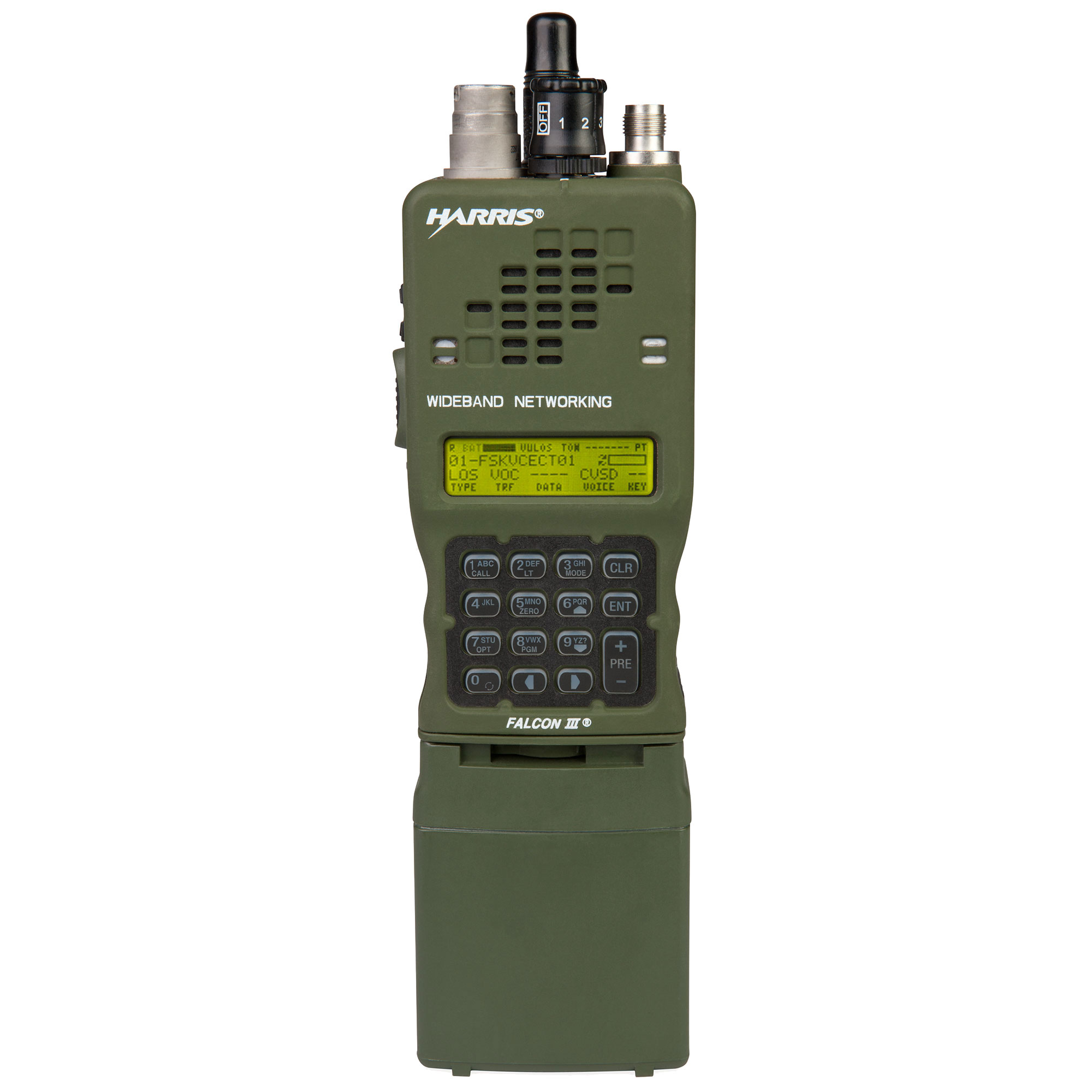 L3Harris Falcon III® AN/PRC-152A Wideband Networking Handheld Radio