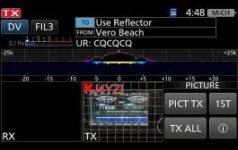 Icom IC-9700 Picture Mode, New Feature Firmware, DSTAR