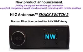Hi-Z Antennas Shack Switch 2 SS2