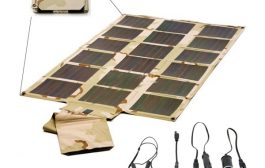 New Foldable Solar Panel, Ham Radio Go-Kit, Portable Power